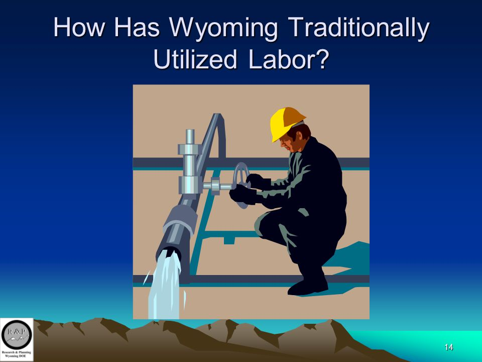 14 How Has Wyoming Traditionally Utilized Labor?