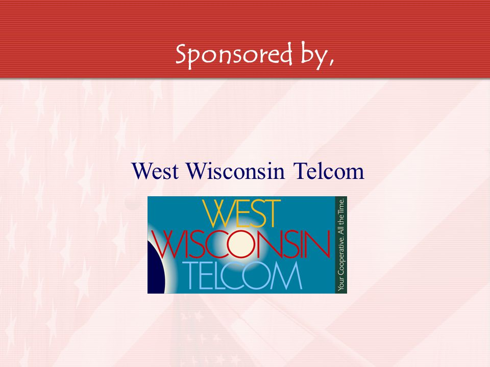 Sponsored by, West Wisconsin Telcom