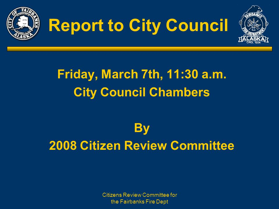 Citizens Review Committee for the Fairbanks Fire Dept The 56 Hour Work Week Explained