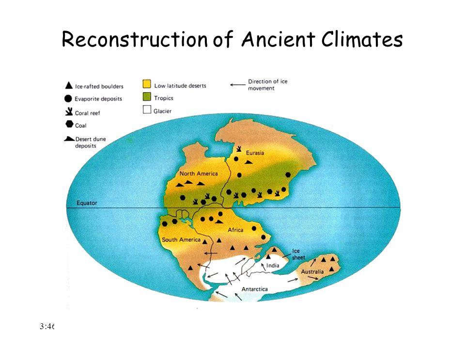 3:48 AM Reconstruction of Ancient Climates