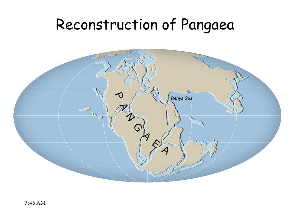 3:48 AM Reconstruction of Pangaea