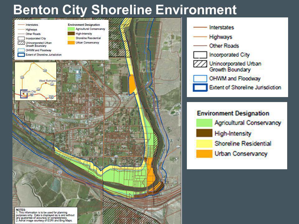 13 Benton City Shoreline Environment