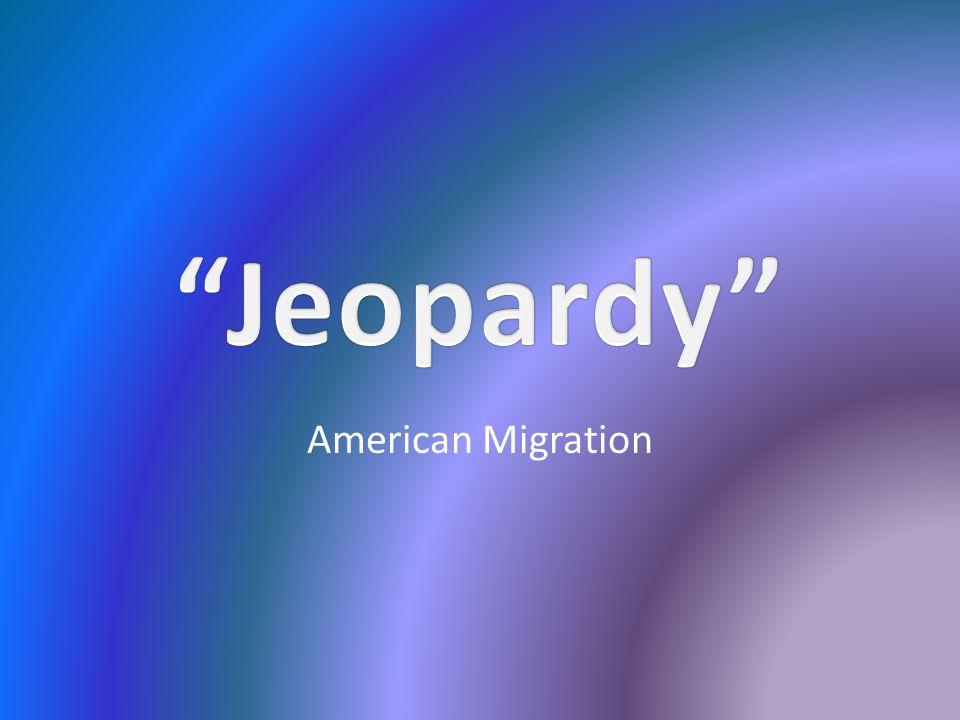 American Migration