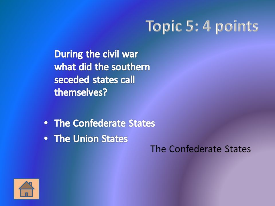 The Confederate States