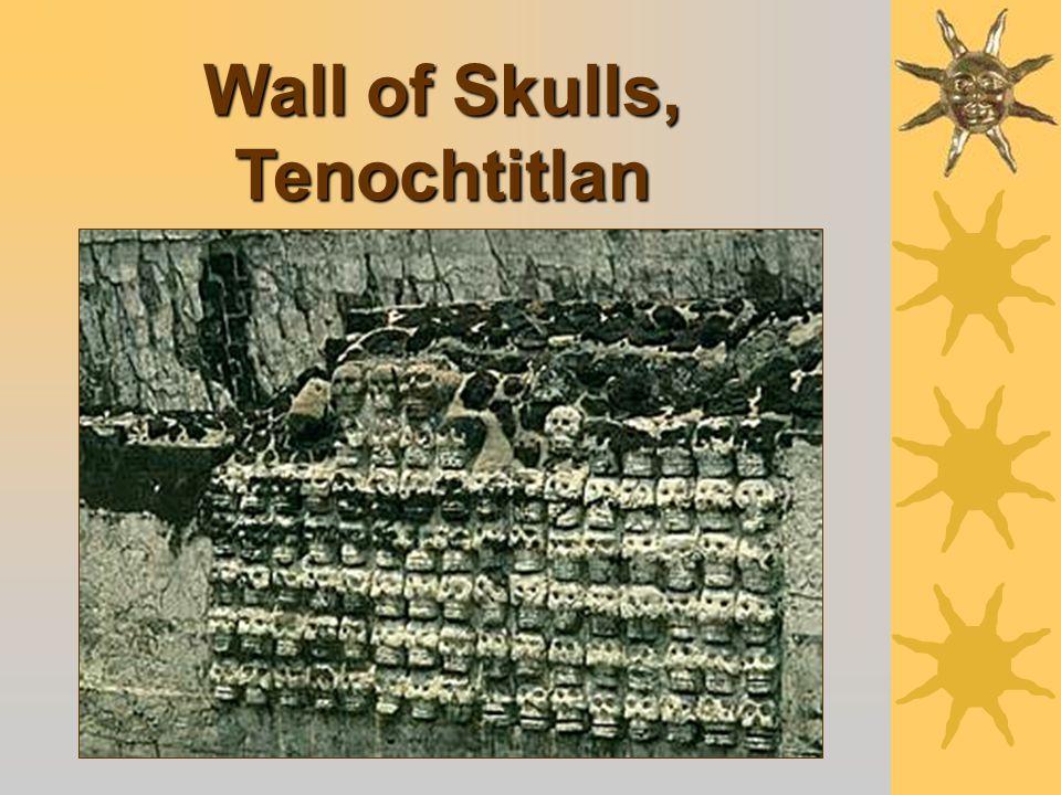 Heart Sacrifice on an Aztec Temple Pyramid