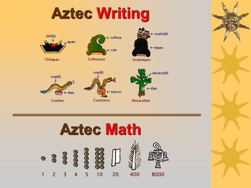Aztec Medicine Aztec doctors made more than 1,000 medicines from plants.