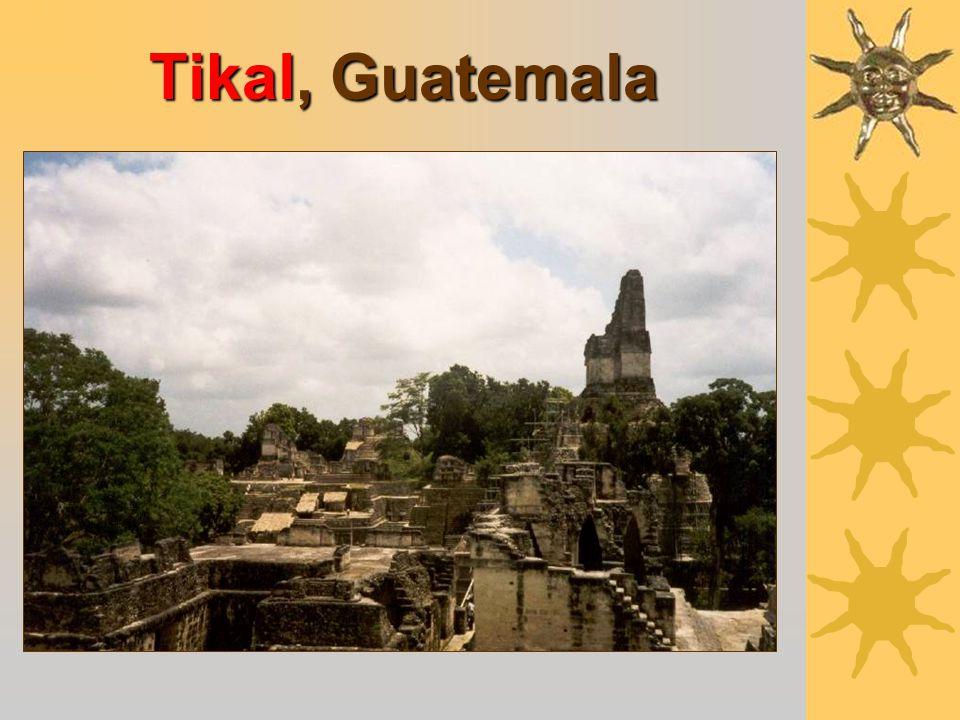 Lands of the Mayans The Yucatan Peninsula