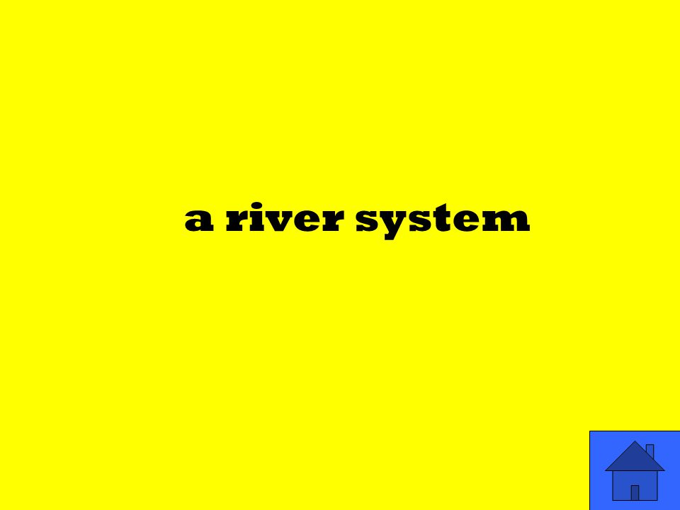 a river system