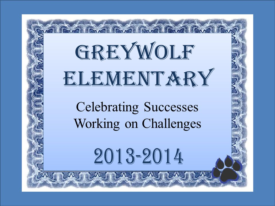 Celebrating Successes Working on Challenges