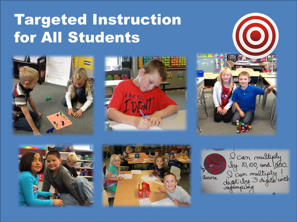 Targeted Instruction for All Students