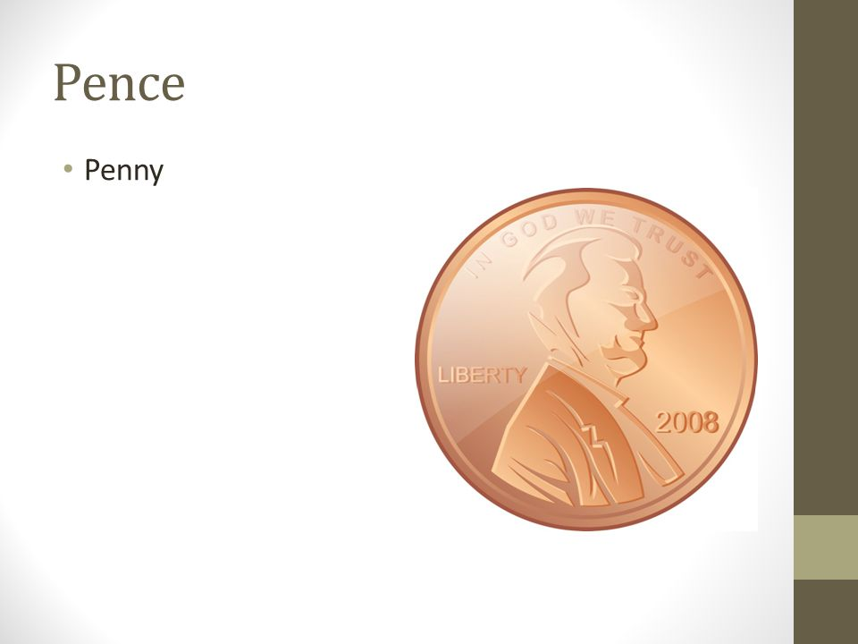 Pence Penny
