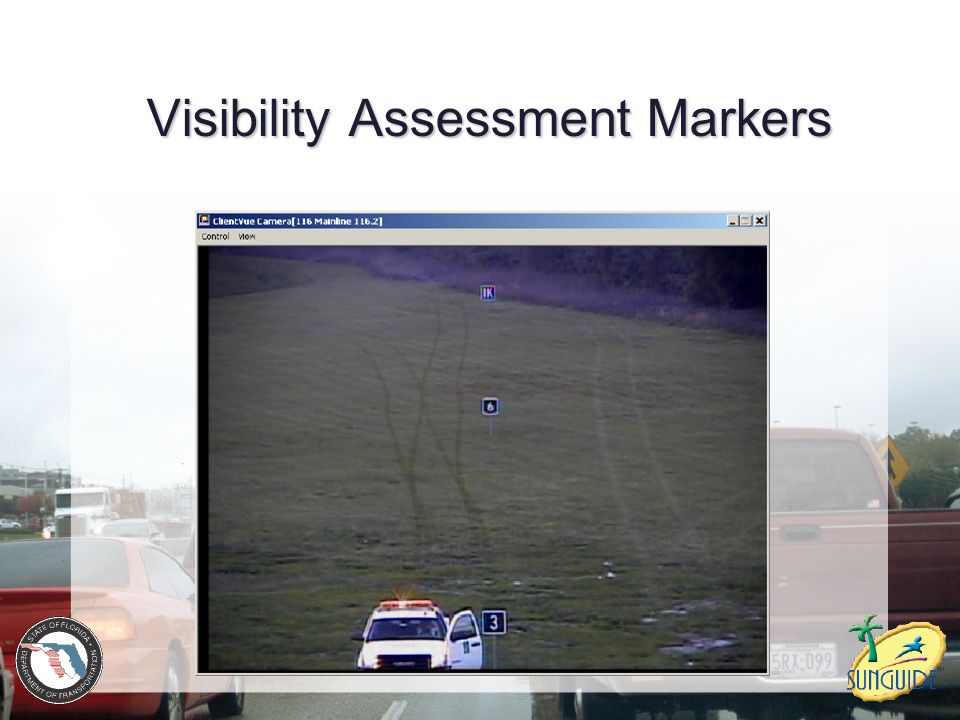 Visibility Assessment Markers