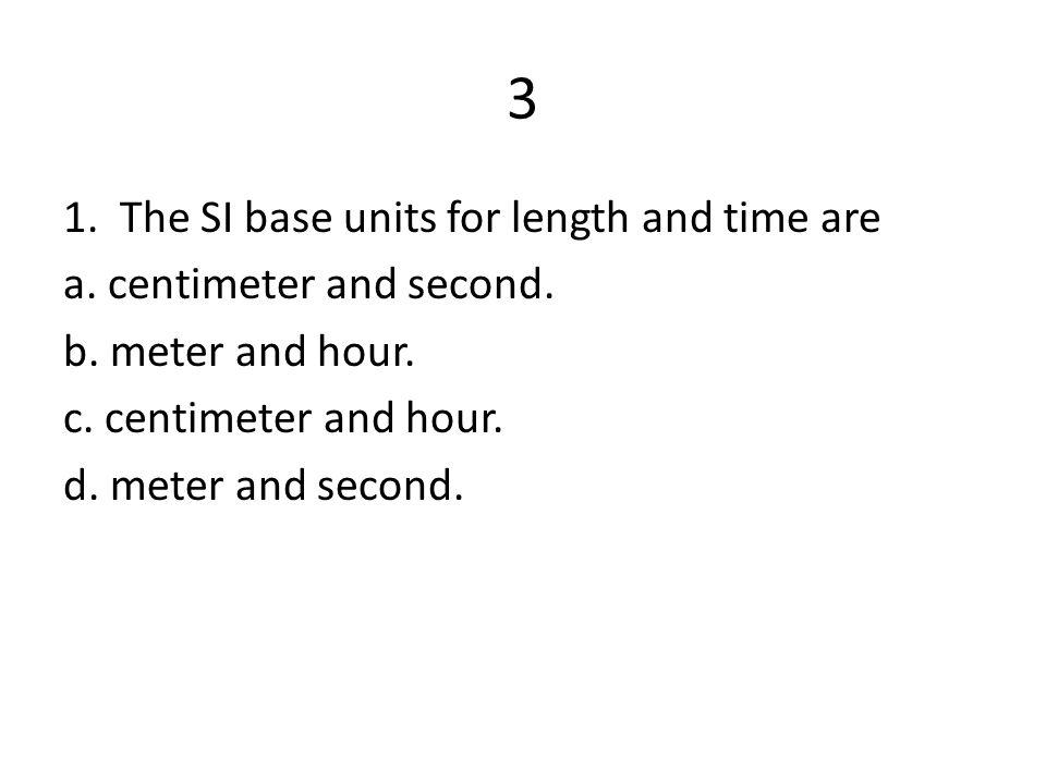 2. The symbol mm represents a. micrometer. b. millimeter. c. milliliter. d. meter.