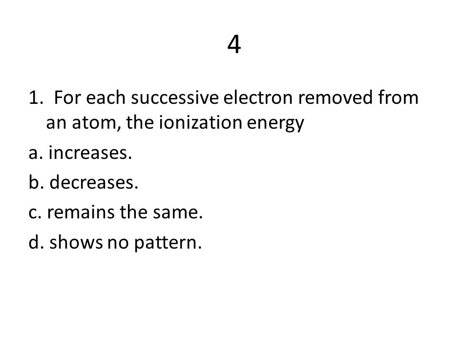 2. In Group 2 elements, the valence electrons are in sublevel a. d. b. p. c. s. d. f.