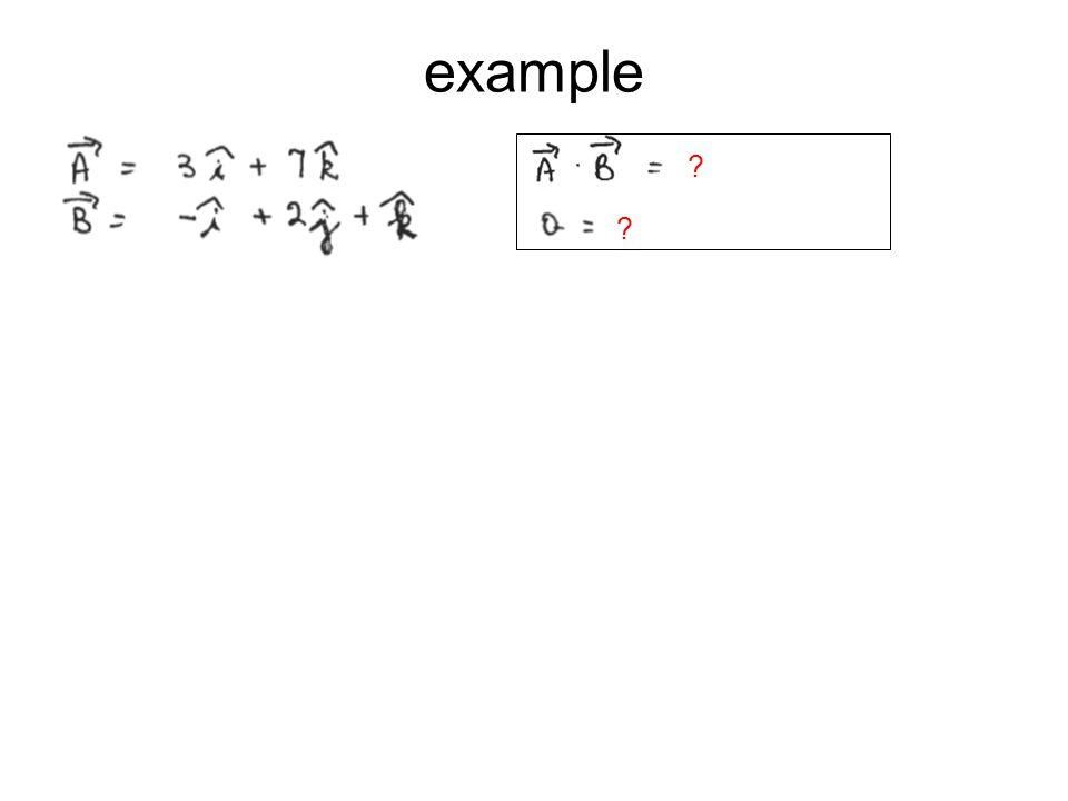 example ? ?
