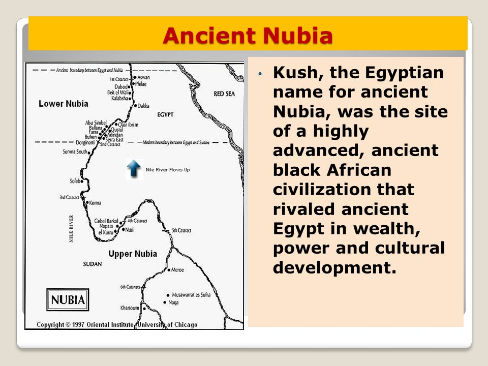 ANCIENT EGYPT And NUBIA Ch Sect I Ppt Download - Map of egypt and nubia