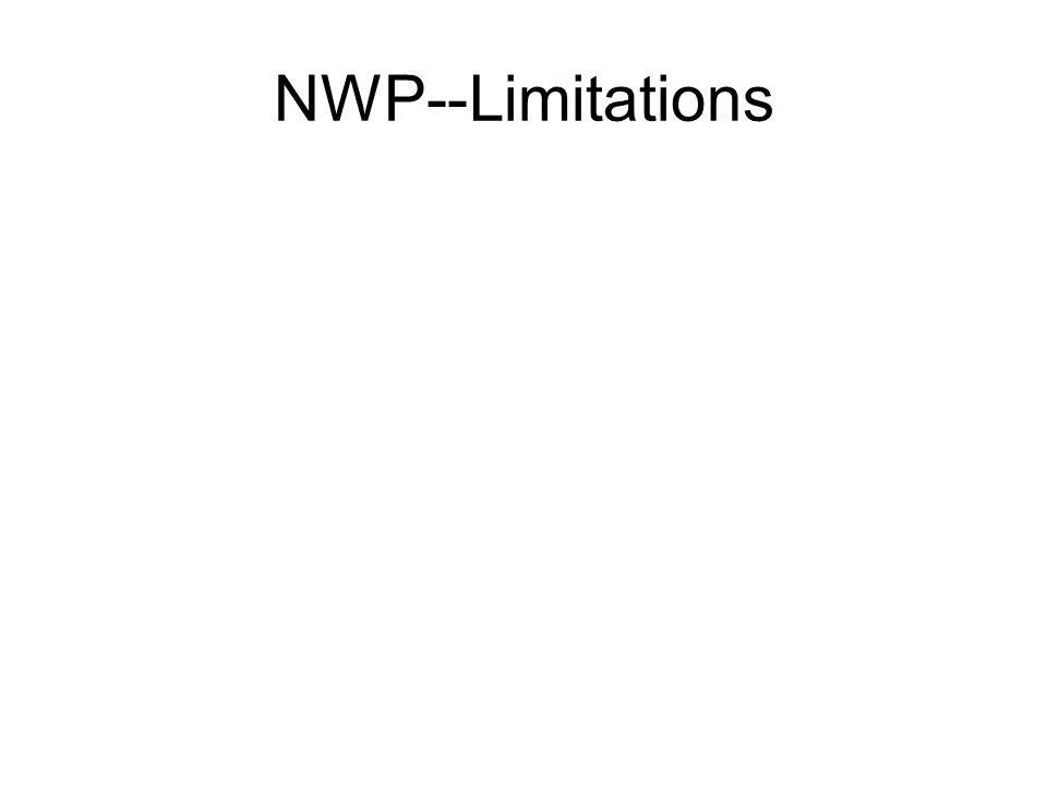 NWP--Limitations