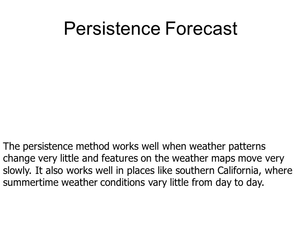 Con't Ensemble forecasting is a technique based on running several forecast models, each beginning with slightly different weather information to reflect errors in the measurements.
