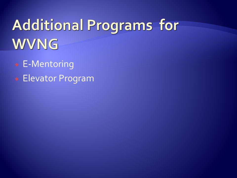  E-Mentoring  Elevator Program