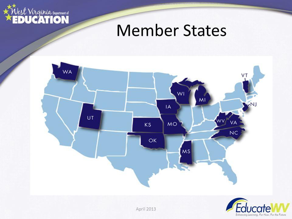 Member States April 2013