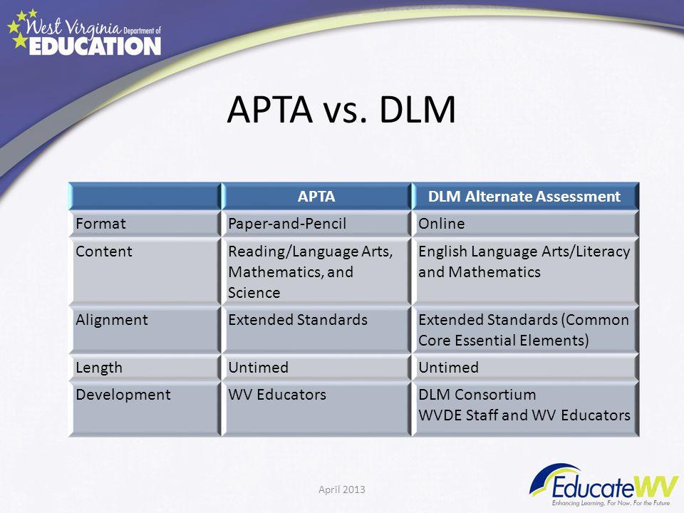 APTA vs.