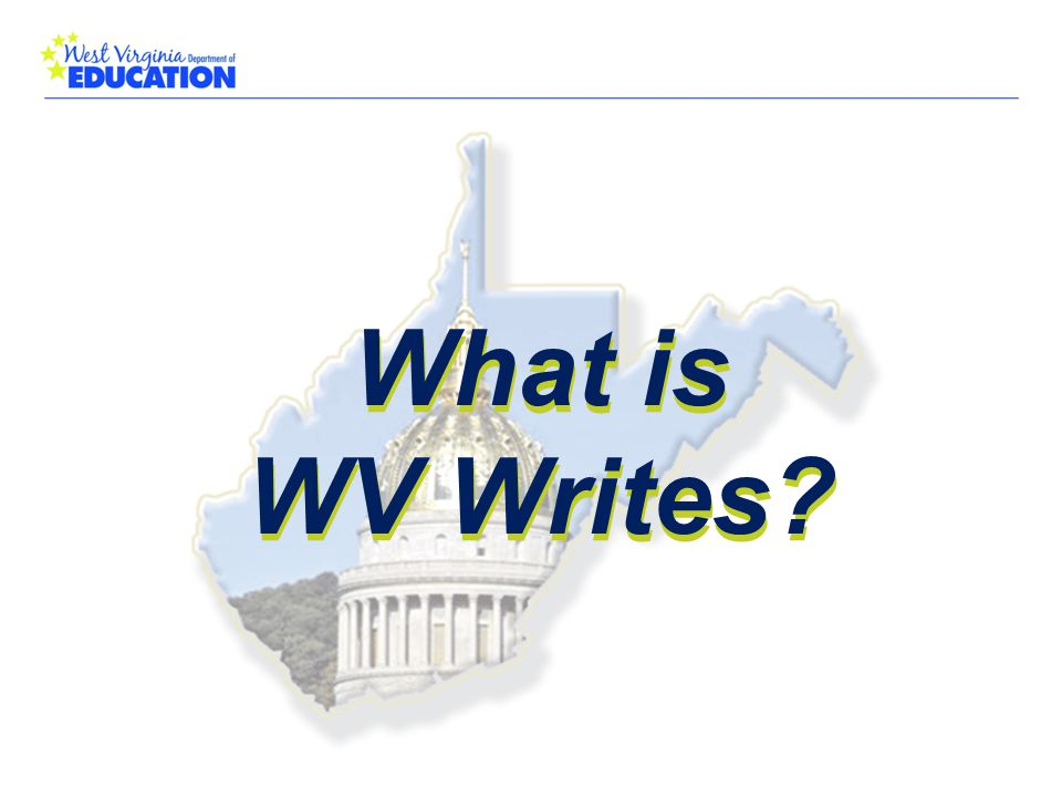 What is WV Writes