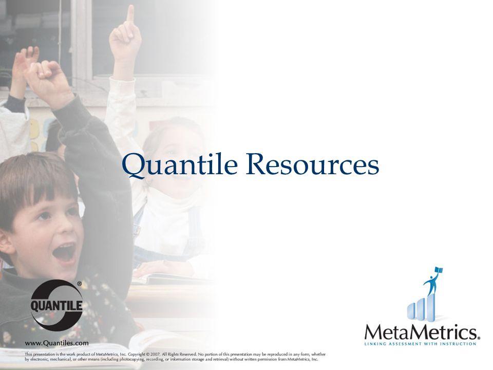 Quantile Resources