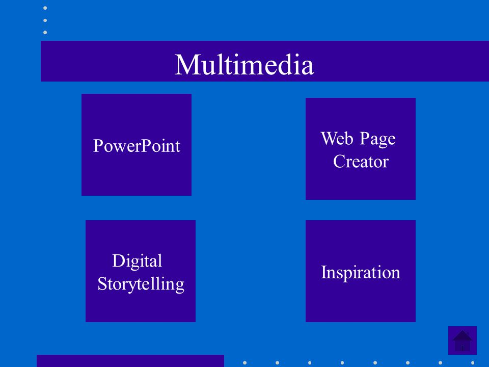 Multimedia PowerPoint Web Page Creator Digital Storytelling Inspiration