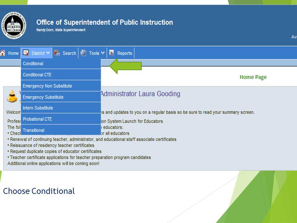  Applicant Screen