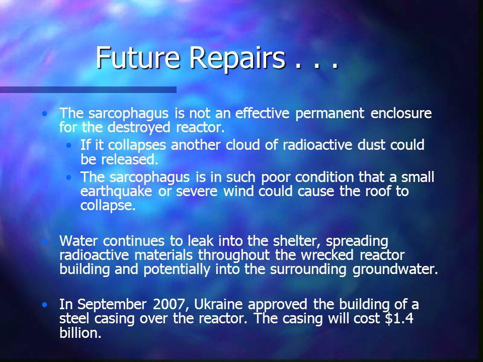 Future Repairs...