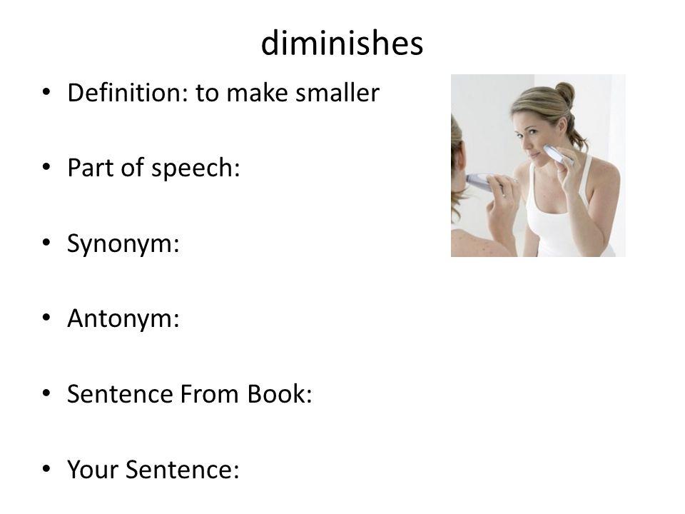 Sentences synonym