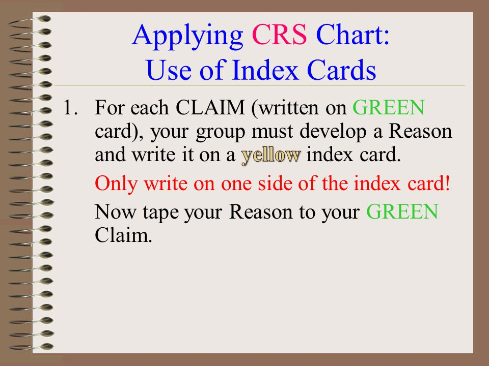The Complete CRS Example