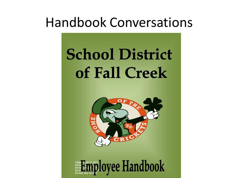 Handbook Conversations