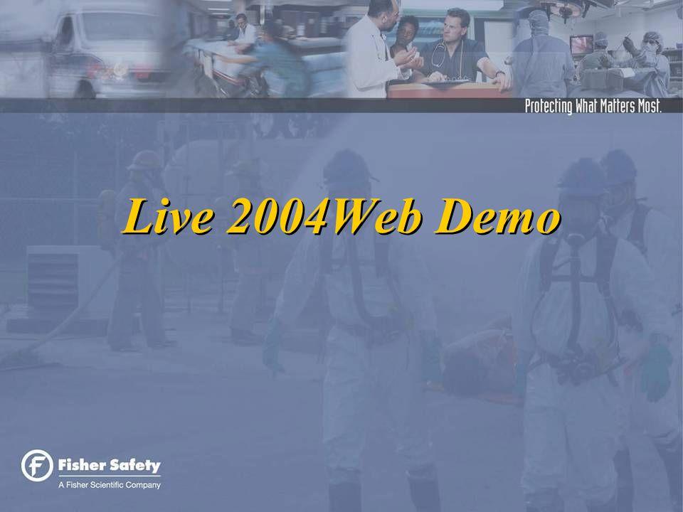 Live 2004Web Demo