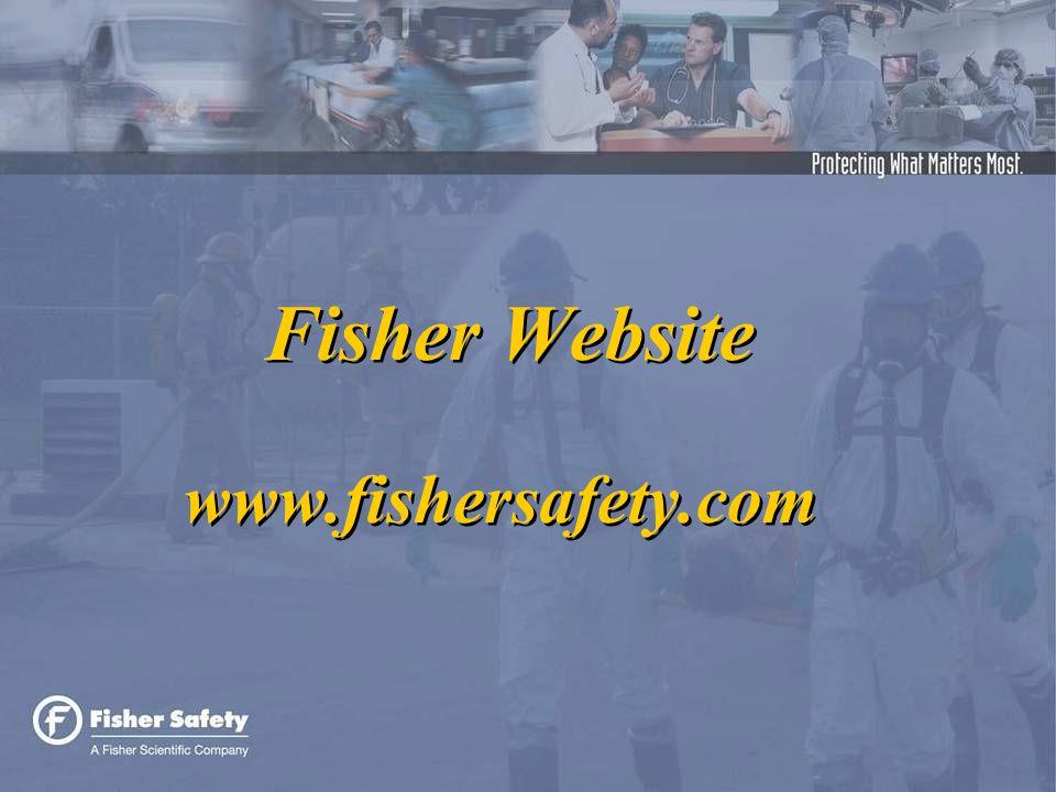 Fisher Website www.fishersafety.com