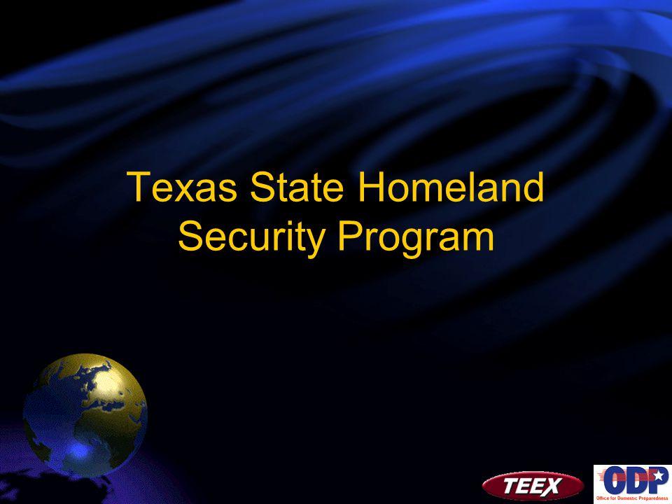 Texas State Homeland Security Program