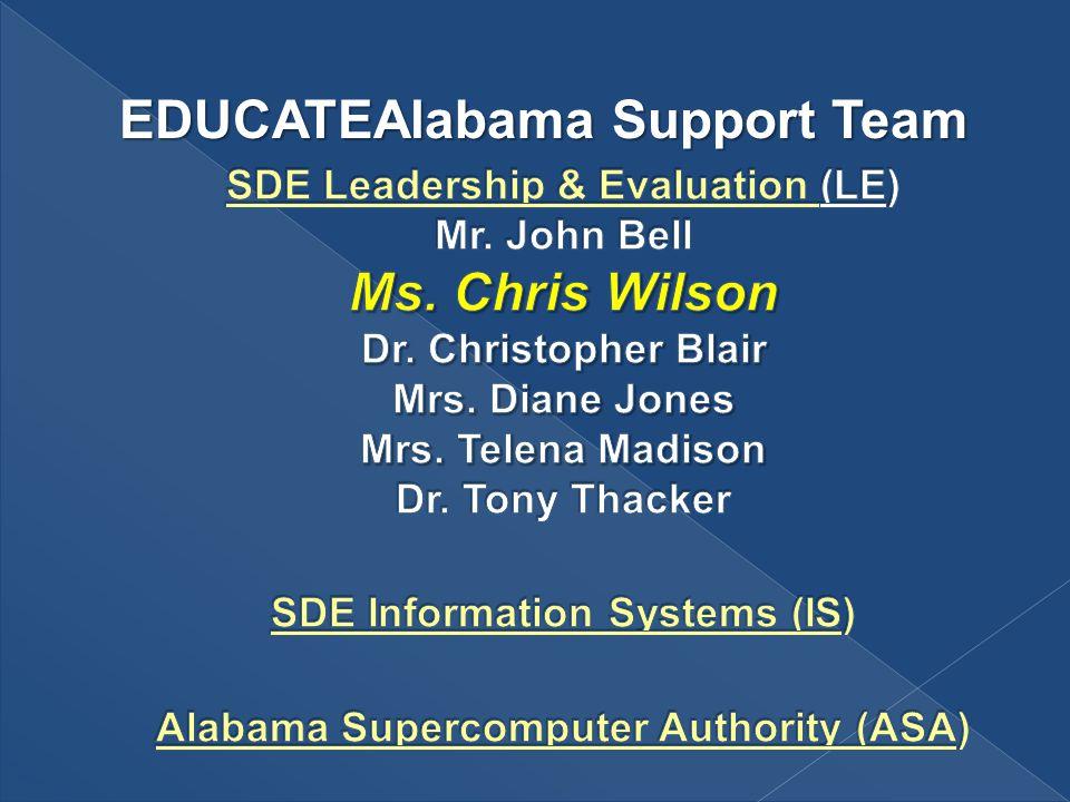 EDUCATEAlabama Support Team