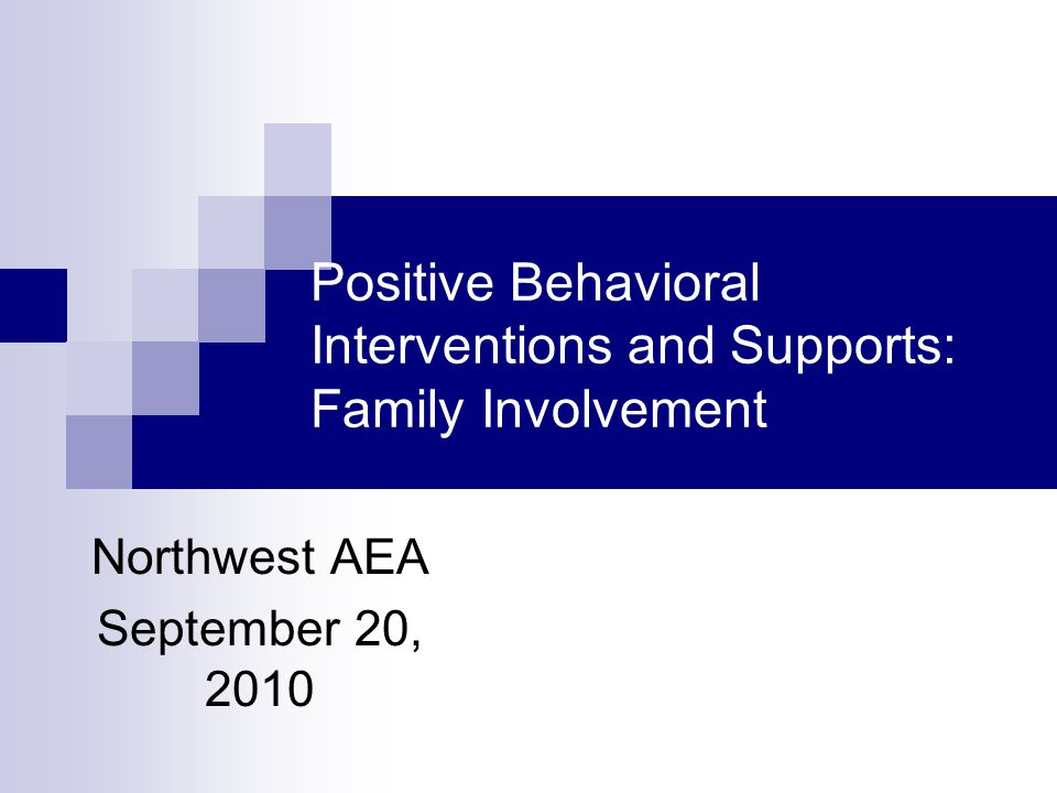 Major portions of the following material were taken from the Parent Information Resource Center Grant Project (PIRC) and the Iowa Behavioral Alliance in conjunction with The Iowa Department of Education