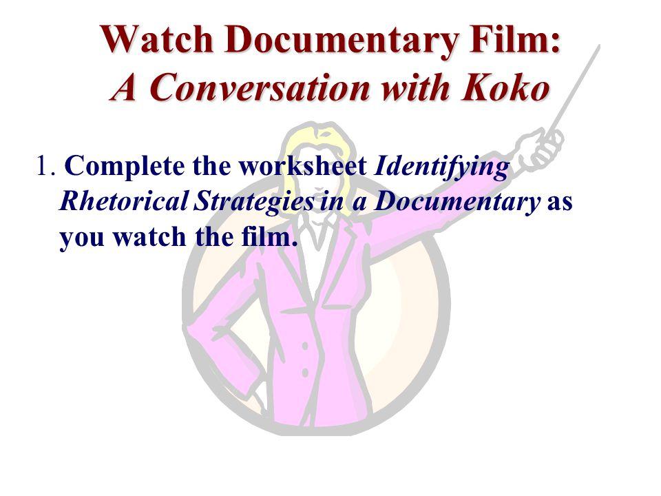 Watch Documentary Film: A Conversation with Koko 1.