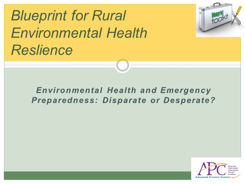 EPA s Community-Based Water Resiliency (CBWR) initiative aims to: Increase overall community preparedness by raising awareness of water sector interdependencies and enhance integration of water sector into community emergency preparedness and response efforts; and Increase preparedness and resiliency of drinking water and wastewater utilities by delivering tools and information to increase community collaboration and bolster security practices.