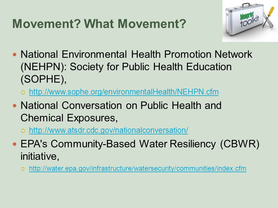 Movement. What Movement.