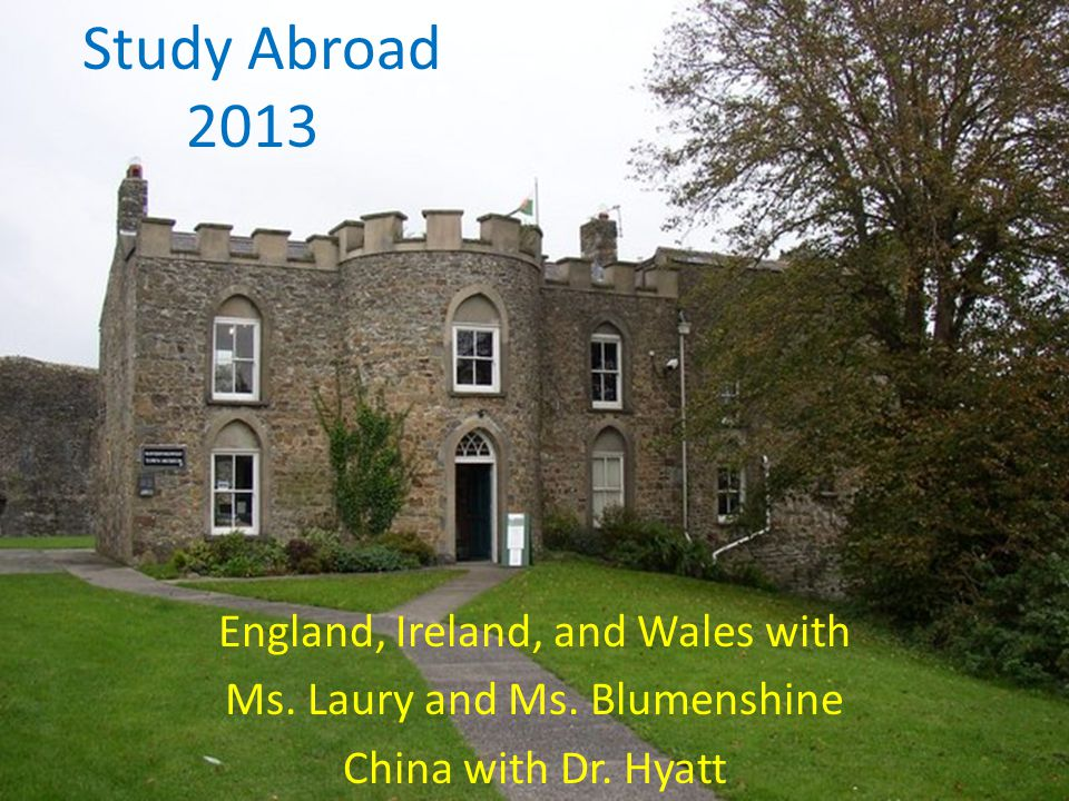 Questions/Concerns Email, call, or set an appointment to speak to one of us England, Ireland, and Wales Ms.