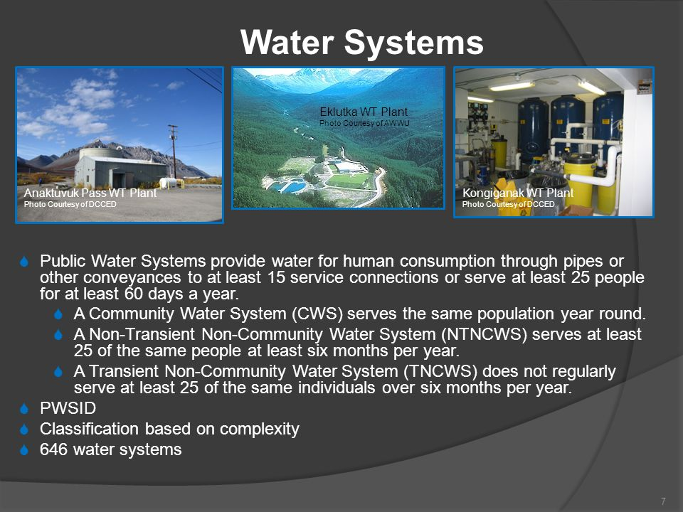 Small Water System Exams Small Untreated Water System 50-question multiple choice exam Exam description available at http://dec.alaska.gov/water/opcert/SmallSystemExamInfo.htm http://dec.alaska.gov/water/opcert/SmallSystemExamInfo.htm Small Treated Water System 50-question multiple choice exam Exam description available at http://dec.alaska.gov/water/opcert/SmallSystemExamInfo.htm http://dec.alaska.gov/water/opcert/SmallSystemExamInfo.htm 28