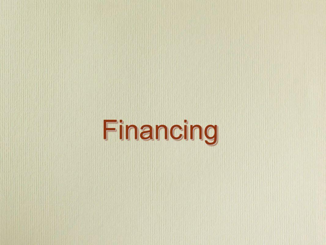 FinancingFinancing