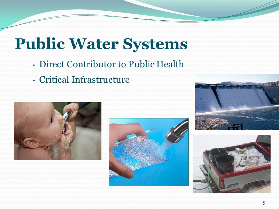 Summary How drinking water directly contributes to overall public health in an emergency How drinking water systems can prevent, prepare for, and recover from natural disasters and human-caused incidents Understand proposed emergency preparedness regulation changes that may affect your system How drinking water directly contributes to overall public health in an emergency How drinking water systems can prevent, prepare for, and recover from natural disasters and human-caused incidents Understand proposed emergency preparedness regulation changes that may affect your system 76