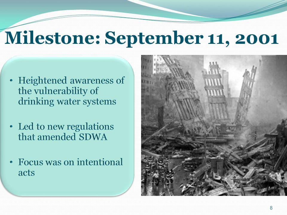 8 Milestone: September 11, 2001