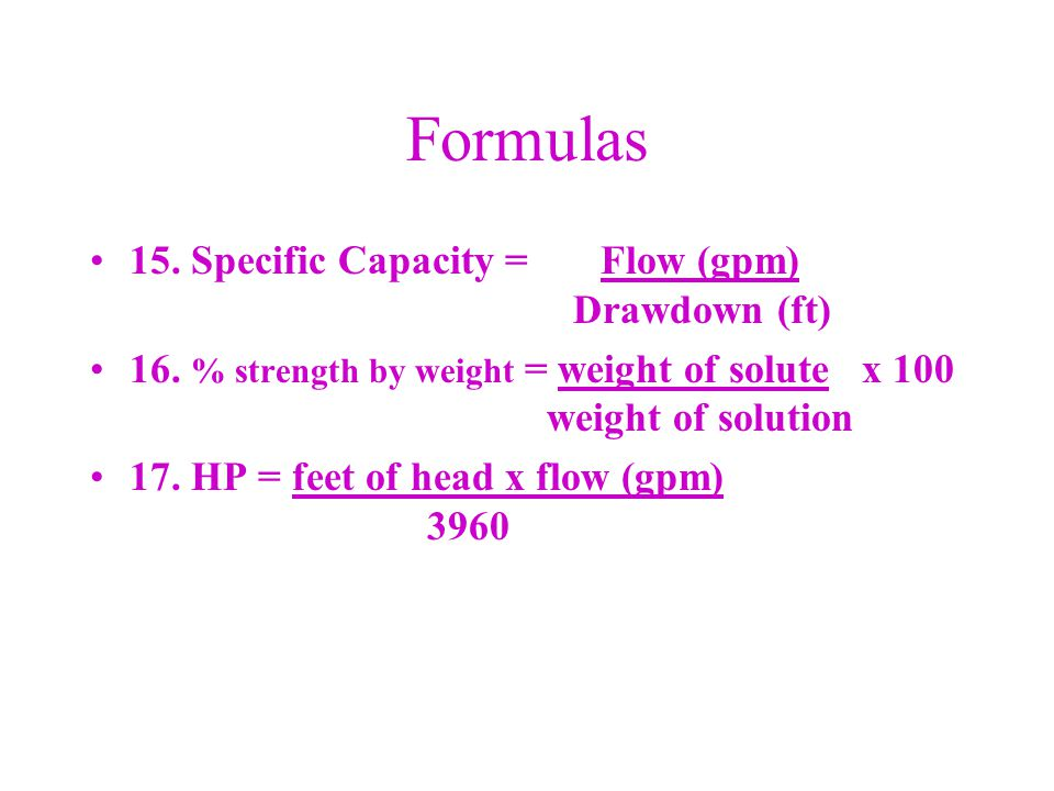 MGD Conversion To convert MGD into Cubic Feet per Second (cfs) multiply by 1.55.