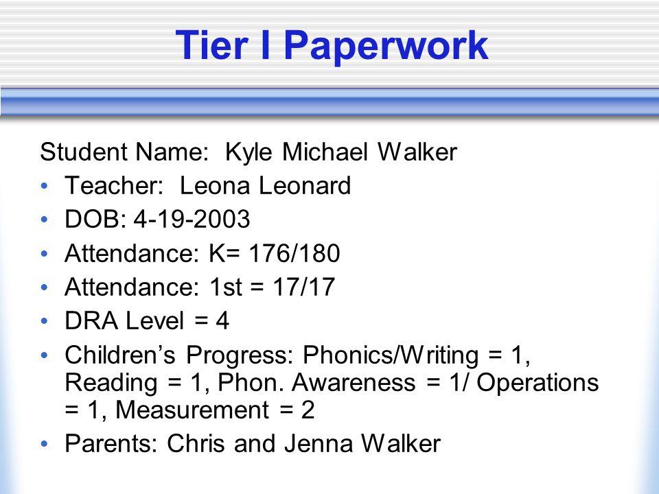 Additional Information Mrs.