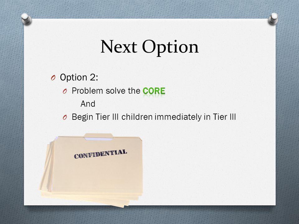 Next Option