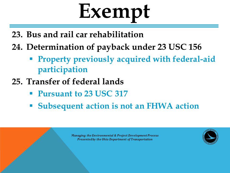 Exempt 23.